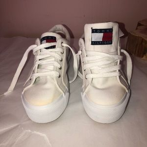 Tommy Hilfiger canvas sling back sneakers 8